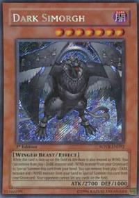 Dark Simorgh - SOVR-EN092 - Secret Rare - Unlimited Edition