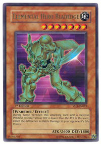 Elemental Hero Bladedge - YSD-EN019 - Ultra Rare - Unlimited Edition