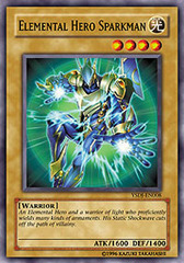 Elemental Hero Sparkman - YSDJ-EN008 - Common - Unlimited Edition