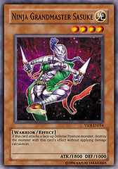Ninja Grandmaster Sasuke - YSDJ-EN014 - Common - Unlimited Edition on Channel Fireball