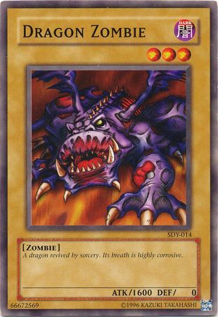 Dragon Zombie - SDY-014 - Common - Unlimited Edition