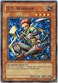 D.D. Warrior - SDWS-EN013 - Common - Unlimited Edition