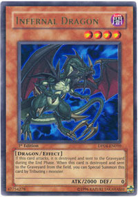 Infernal Dragon - DP04-EN010 - Ultra Rare - Unlimited Edition