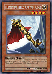 Elemental Hero Captain Gold - DP06-EN004 - Rare - Unlimited Edition on Channel Fireball
