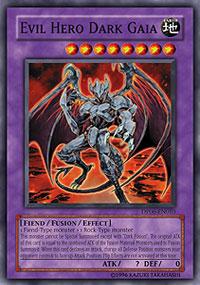 Evil Hero Dark Gaia - DP06-EN010 - Common - Unlimited Edition