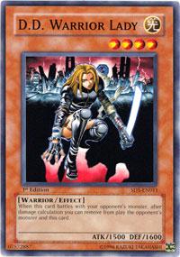 D.D. Warrior Lady - SD5-EN011 - Common - Unlimited Edition