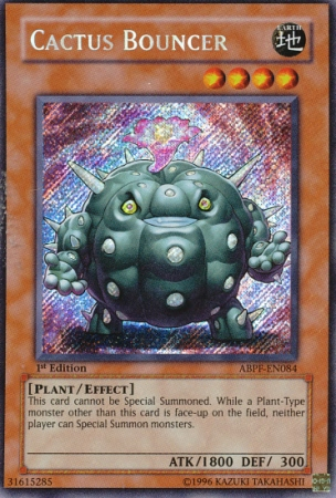 Cactus Bouncer - ABPF-EN084 - Secret Rare - Unlimited Edition
