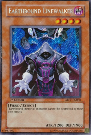 Earthbound Linewalker - ABPF-EN088 - Secret Rare - Unlimited Edition