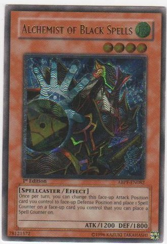 Alchemist of Black Spells - ABPF-EN082 - Ultimate Rare - Unlimited Edition