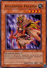 Amazoness Paladin - MFC-059 - Common - Unlimited Edition