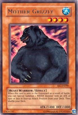 Mother Grizzly - SRL-EN090 - Rare - Unlimited Edition