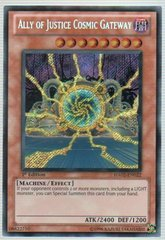 Ally of Justice Cosmic Gateway - HA02-EN022 - Secret Rare - Unlimited Edition on Channel Fireball