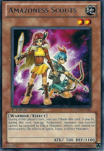 Amazoness Scouts - DREV-EN081 - Rare - Unlimited Edition