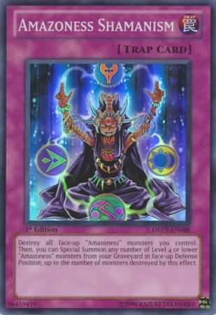 Amazoness Shamanism - DREV-EN088 - Super Rare - Unlimited Edition