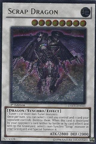 Scrap Dragon - Ultimate - DREV-EN043 - Ultimate Rare - Unlimited