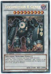 Locomotion R-Genex - HA03-EN029 - Secret Rare - Unlimited Edition