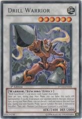 Drill Warrior - DP10-EN018 - Rare - Unlimited Edition