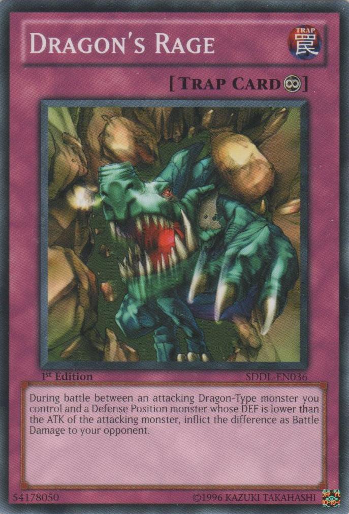 Dragon's Rage - SDDL-EN036 - Common - Unlimited Edition