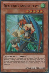 Dragunity Angusticlavii - HA04-EN047 - Super Rare - Unlimited Edition