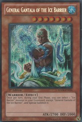General Gantala of the Ice Barrier - HA04-EN054 - Secret Rare - Unlimited Edition