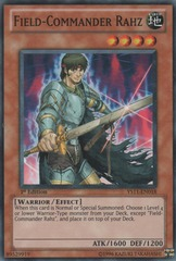 Field-Commander Rahz - YS11-EN018 - Common - Unlimited Edition