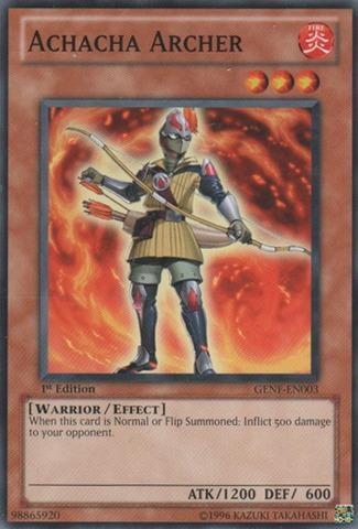 Achacha Archer - GENF-EN003 - Common - Unlimited Edition