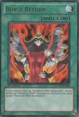 Burst Return - LCGX-EN084 - Rare - 1st Edition