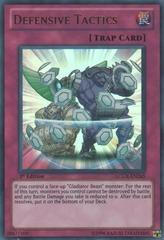 Defensive Tactics - LCGX-EN265 - Ultra Rare - 1st Edition