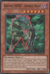 Destiny HERO - Double Dude - LCGX-EN126 - Common - 1st Edition