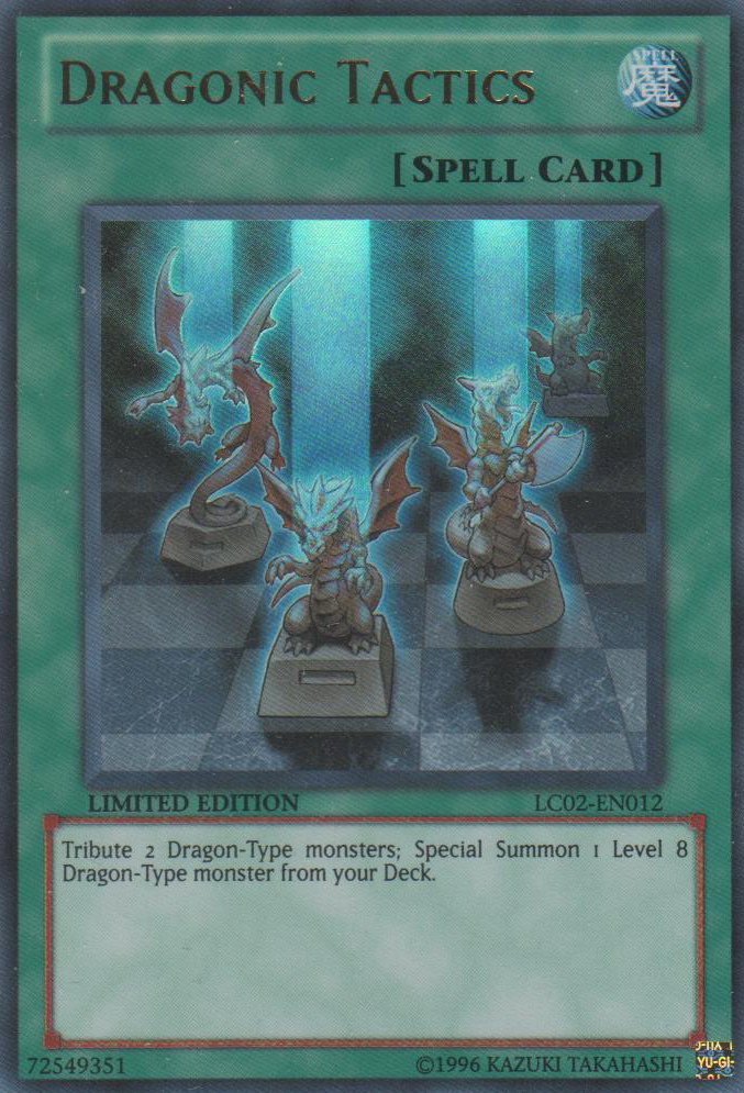 Dragonic Tactics - LC02-EN012 - Ultra Rare - Limited Edition - Promo