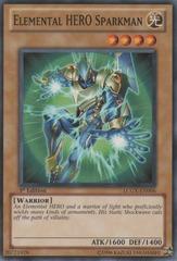 Elemental HERO Sparkman - LCGX-EN006 - Common - 1st Edition