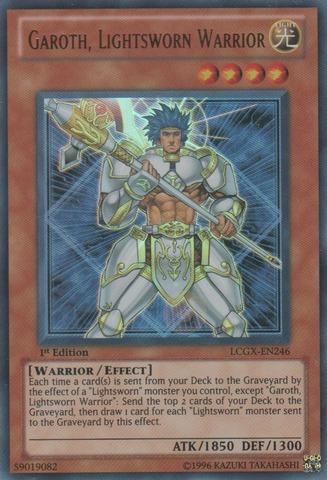 Garoth, Lightsworn Warrior - LCGX-EN246 - Ultra Rare - 1st Edition