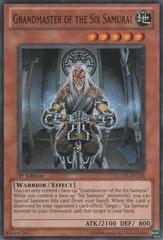 Grandmaster of the Six Samurai - LCGX-EN226 - Common - 1st Edition