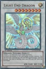 Light End Dragon - LCGX-EN189 - Ultra Rare - 1st Edition