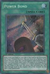 Power Bond - LCGX-EN184 - Secret Rare - 1st Edition