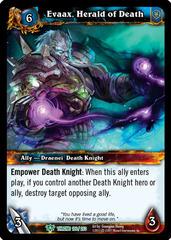 Evaax, Herald of Death
