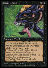 Basal Thrull (Rush) on Channel Fireball
