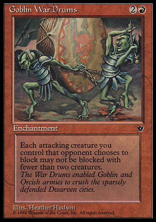 Goblin War Drums (Hudson)