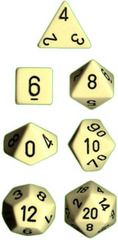 Ivory/Black Opaque Tens 10 - PQ1100