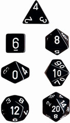 34mm Opaque d20 Black/White - XQ2008