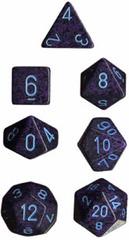 Cobalt Speckled d8 - PS0853