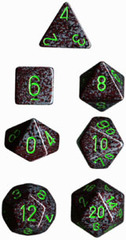 Earth Speckled d20 - PS2022