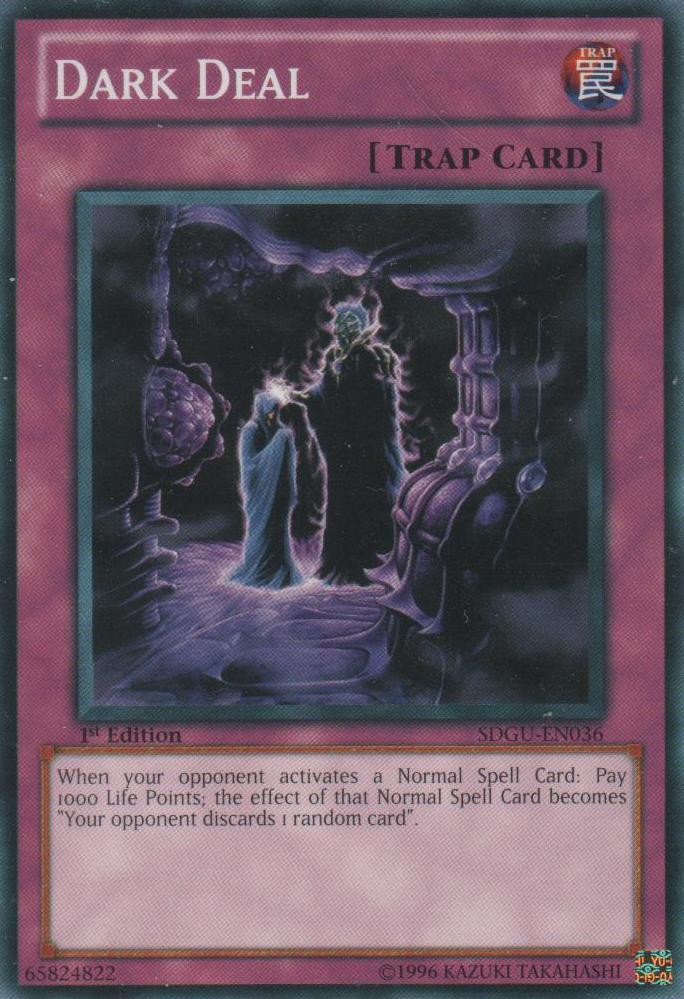 Dark Deal - SDGU-EN036 - Common - 1st Edition