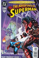The Adventures Of Superman 563 Imprisoned In The Bottle!