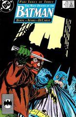 Batman 435 The Many Deaths Of The Batman Chapter Three: The Last Death Of The Batman