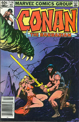 Conan The Barbarian Vol. 1 144 The Blade And The Beast
