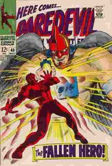 Daredevil Vol. 1 40 The Fallen Hero!