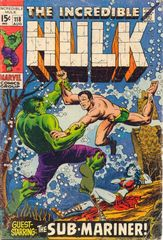 The Incredible Hulk Vol. 1 118 A Clash Of Titans