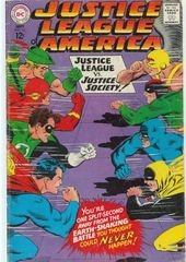 Justice League Of America Vol. 1 56 The Negative Crisis On Earths One Two!