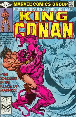 King Conan / Conan The King 5 Vengeance From The Desert
